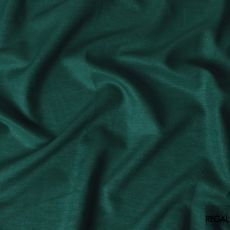 Pine green plain 100% linen fabric 60 Lea-D6375
