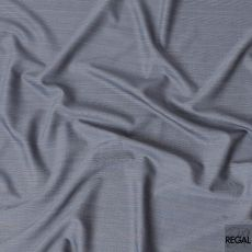 Pearl river grey and baby blue Super 150's Italian wool and cashmere suiting fabric in checks design-D6862