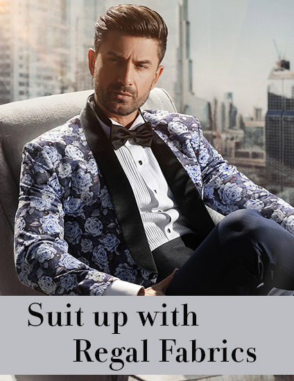 Suitings and shirtings for men